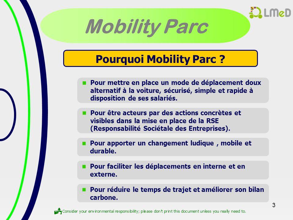Pourquoi Mobility Parc