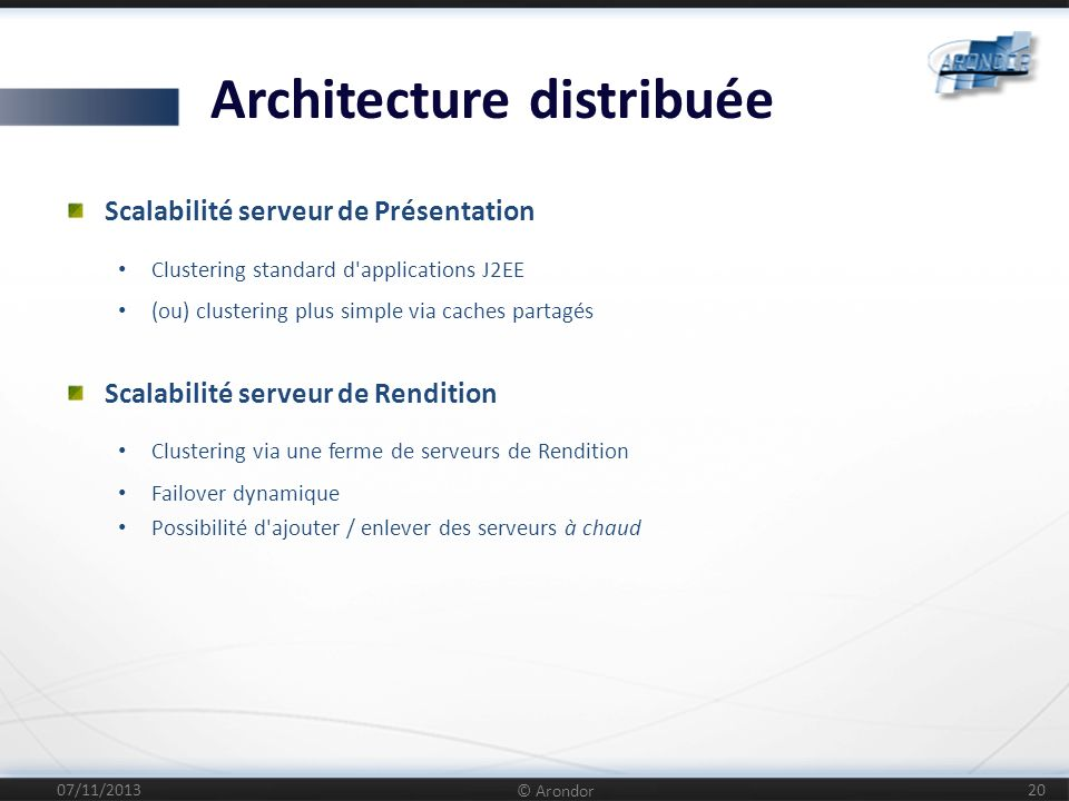 Architecture distribuée
