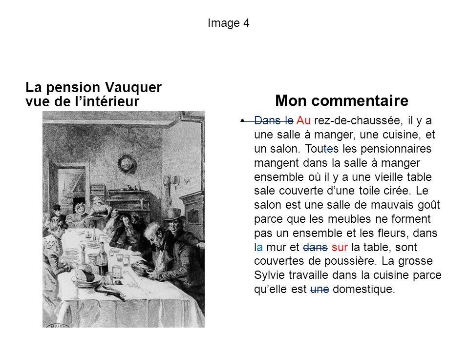 Mon commentaire La pension Vauquer vue de l'intérieur Image 4