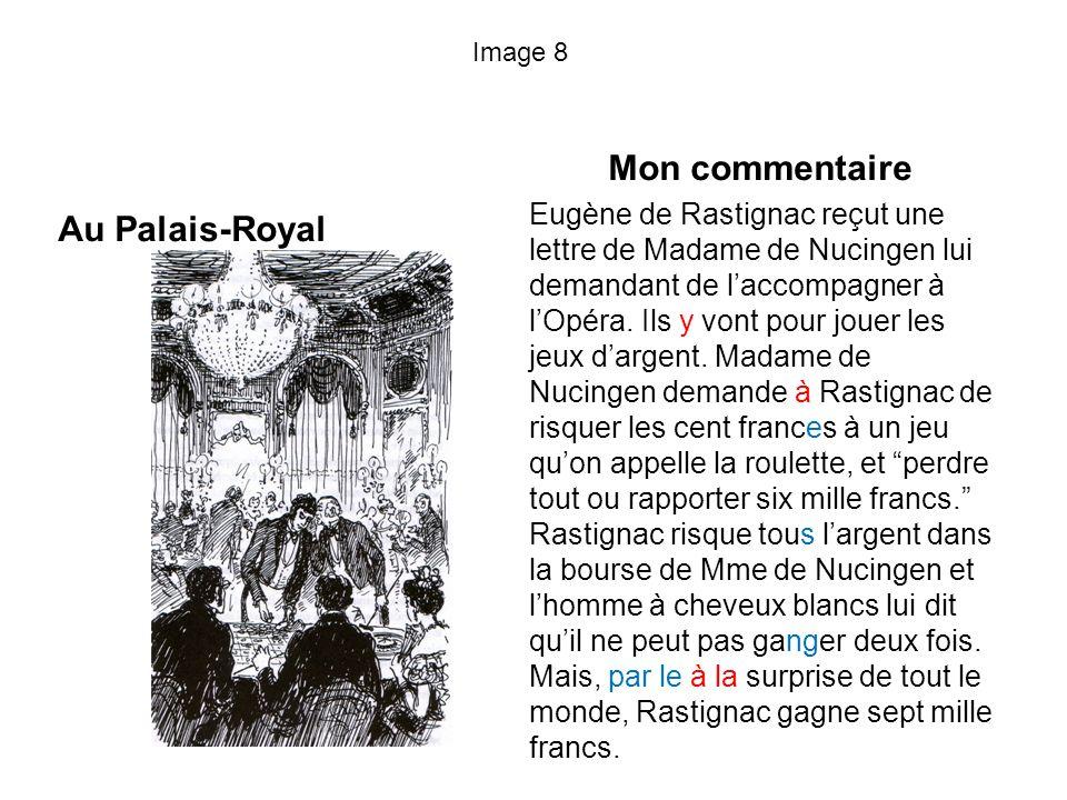 Mon commentaire Au Palais-Royal