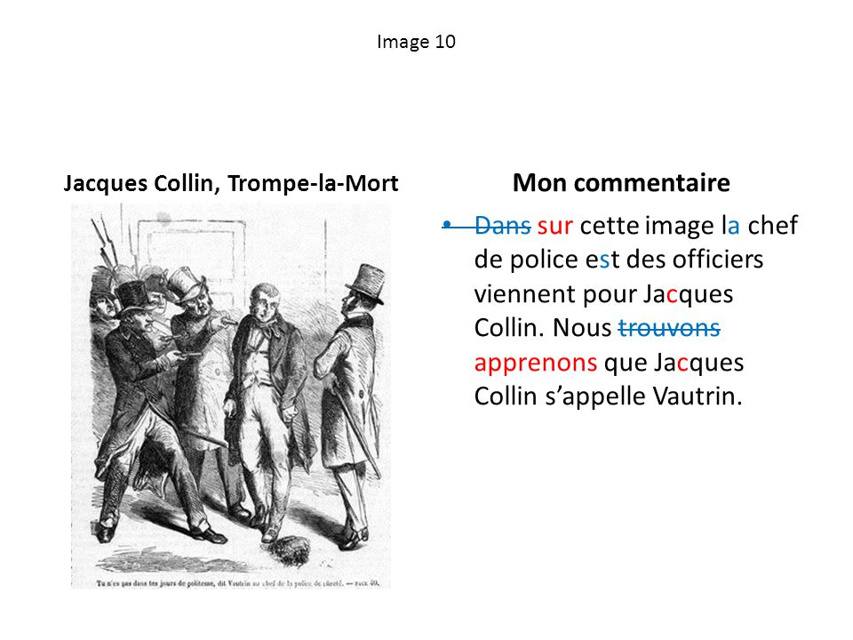 Jacques Collin, Trompe-la-Mort