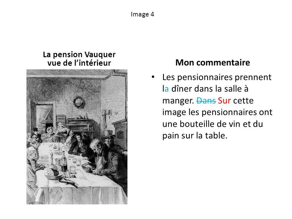 La pension Vauquer vue de l'intérieur