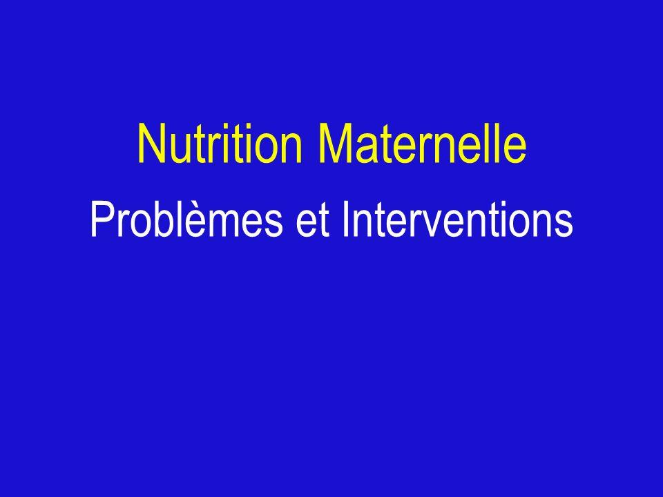Problèmes et Interventions