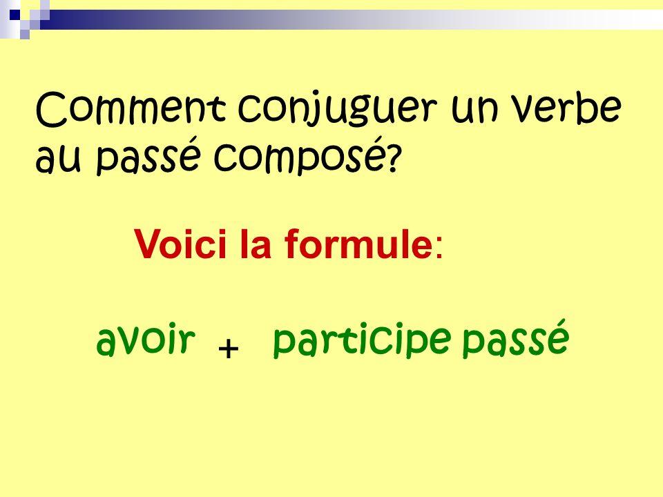 Comment conjuguer un verbe