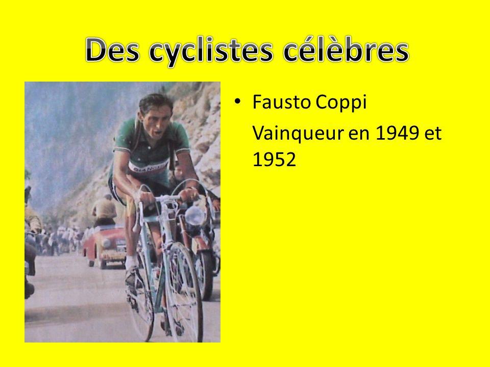 Des cyclistes célèbres