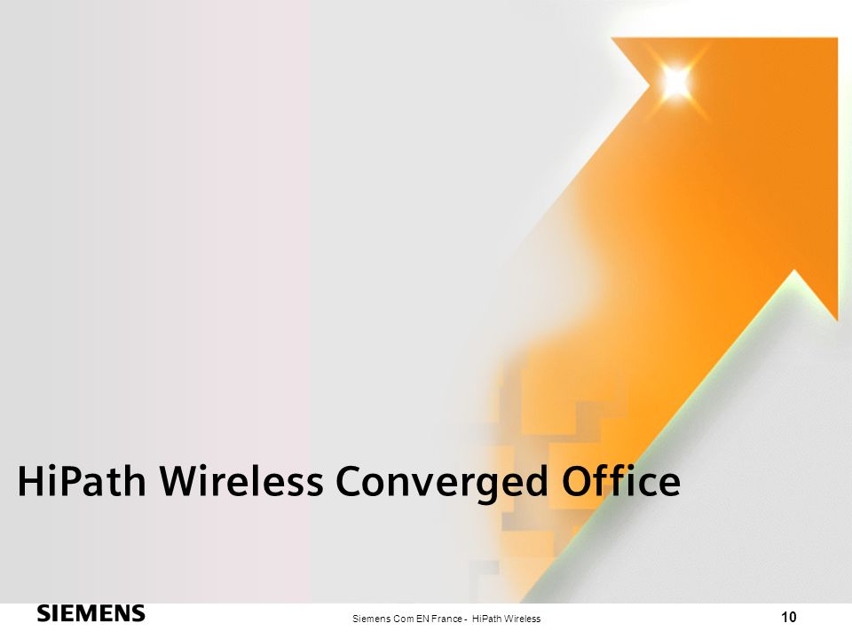 HiPath Wireless Converged Office