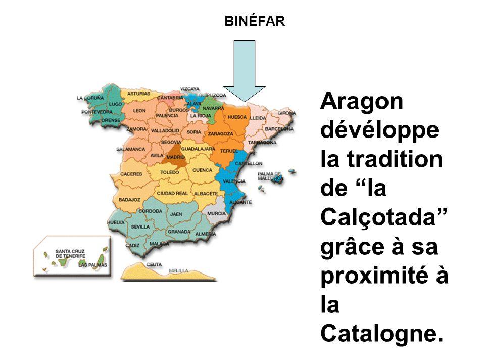 BINÉFAR Aragon dévéloppe la tradition de la Calçotada grâce à sa proximité à la Catalogne.