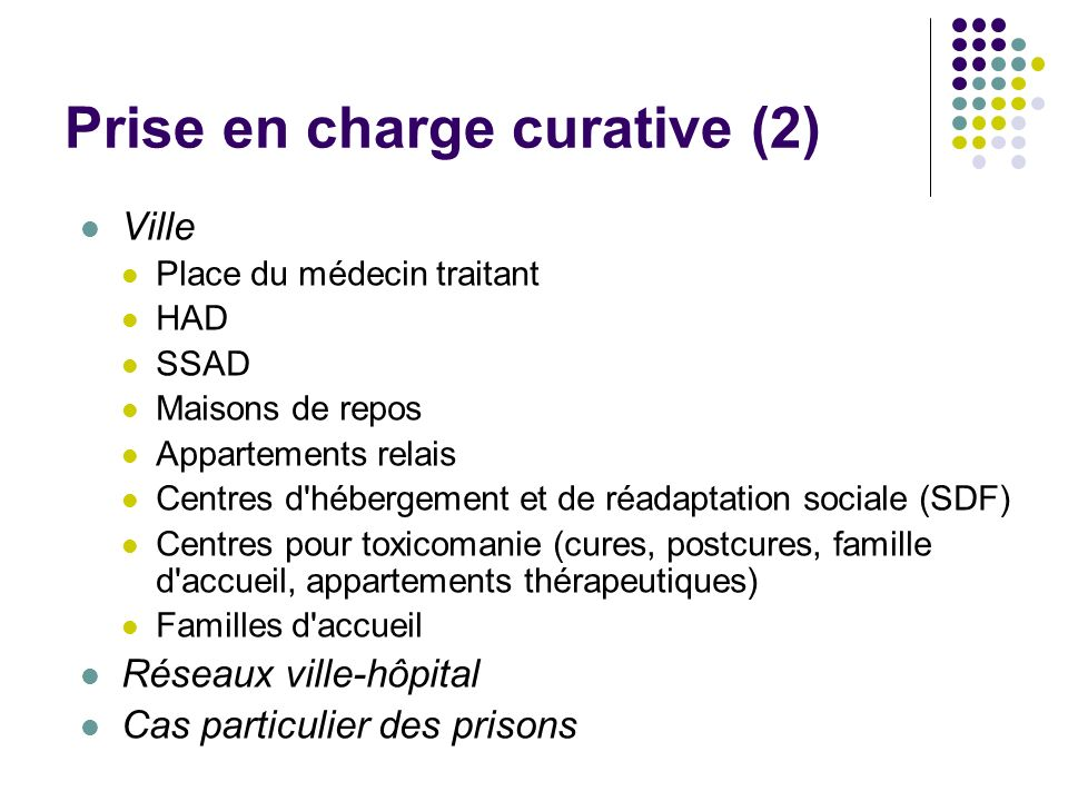 Prise en charge curative (2)