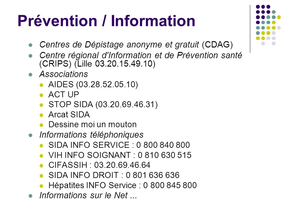 Prévention / Information