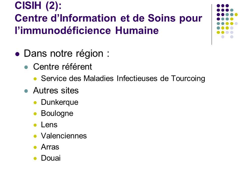 CISIH (2): Centre d'Information et de Soins pour l'immunodéficience Humaine