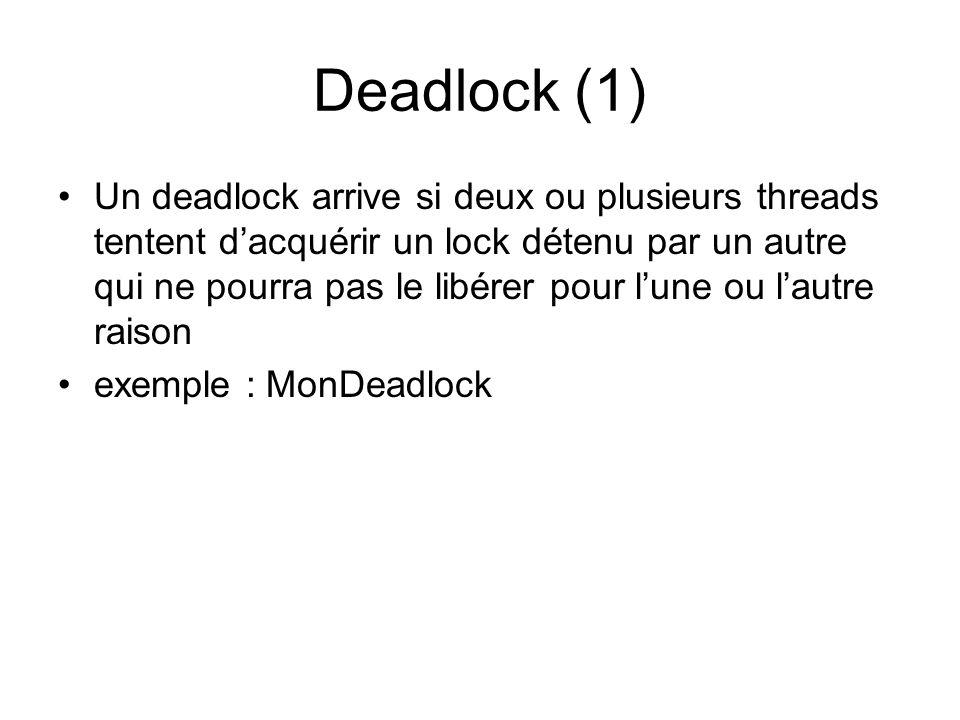 Deadlock (1)