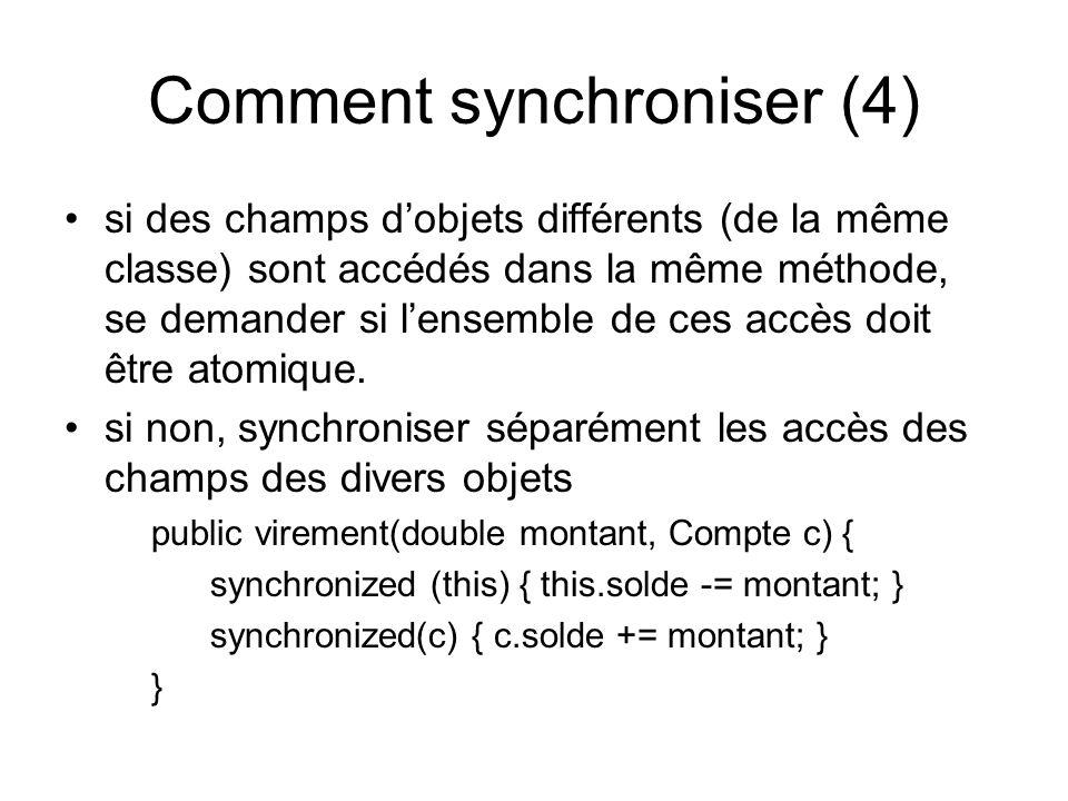 Comment synchroniser (4)