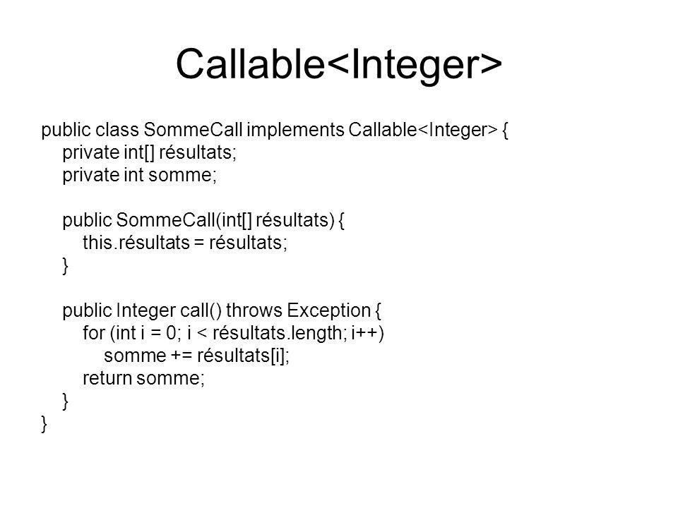 Callable<Integer>