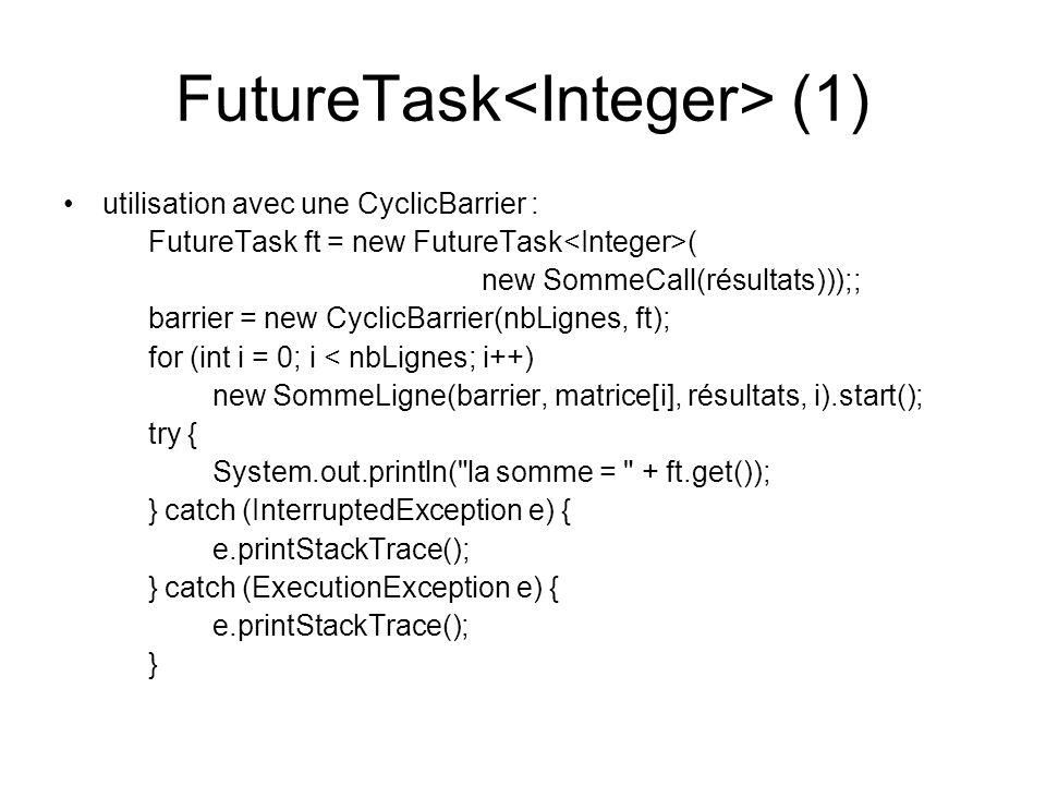 FutureTask<Integer> (1)