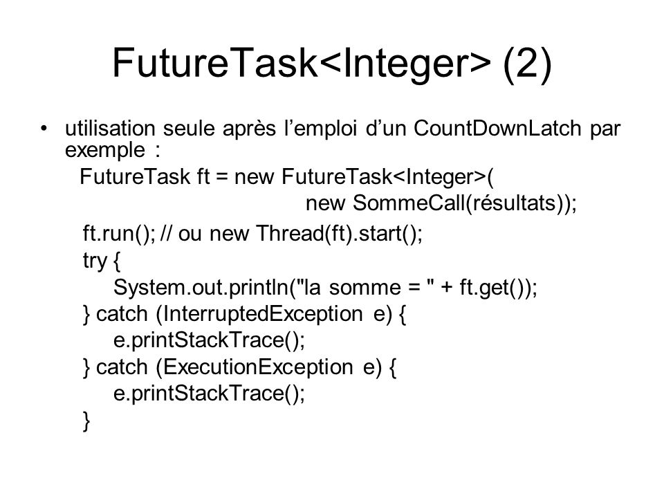 FutureTask<Integer> (2)
