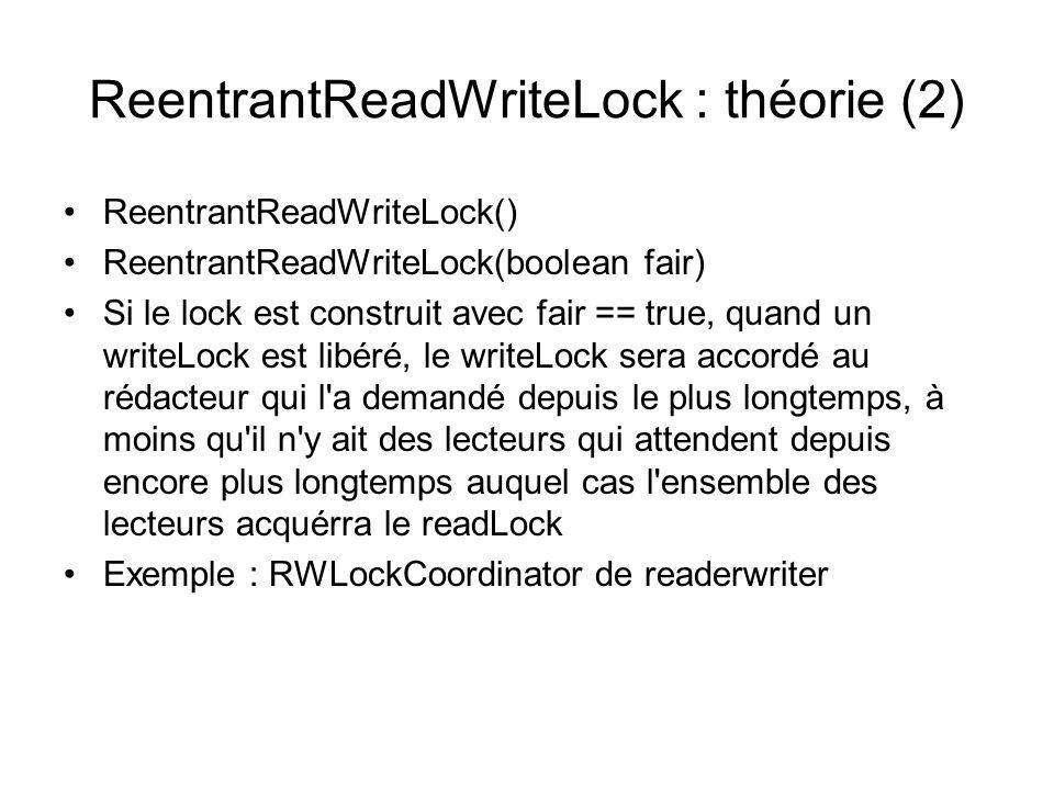 ReentrantReadWriteLock : théorie (2)