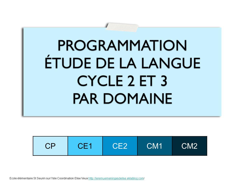CP CE1. CE2. CM1. CM2.