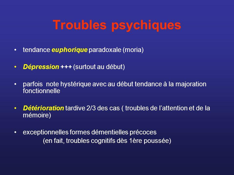 Troubles psychiques tendance euphorique paradoxale (moria)