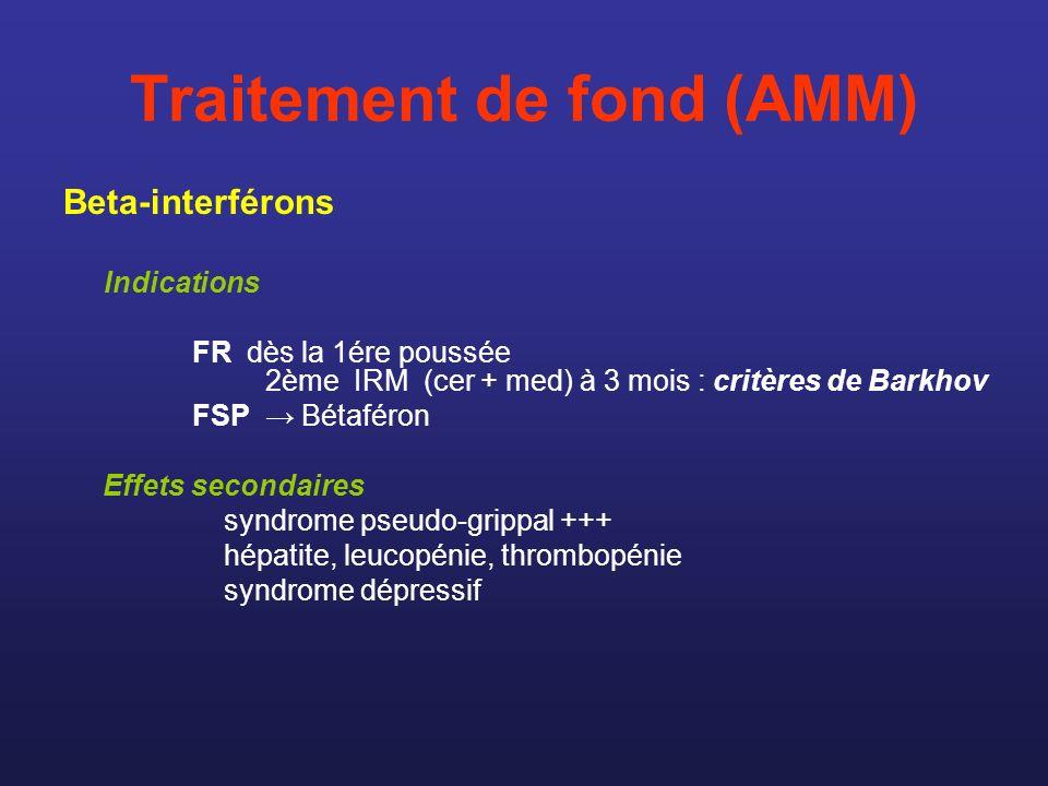 Traitement de fond (AMM)