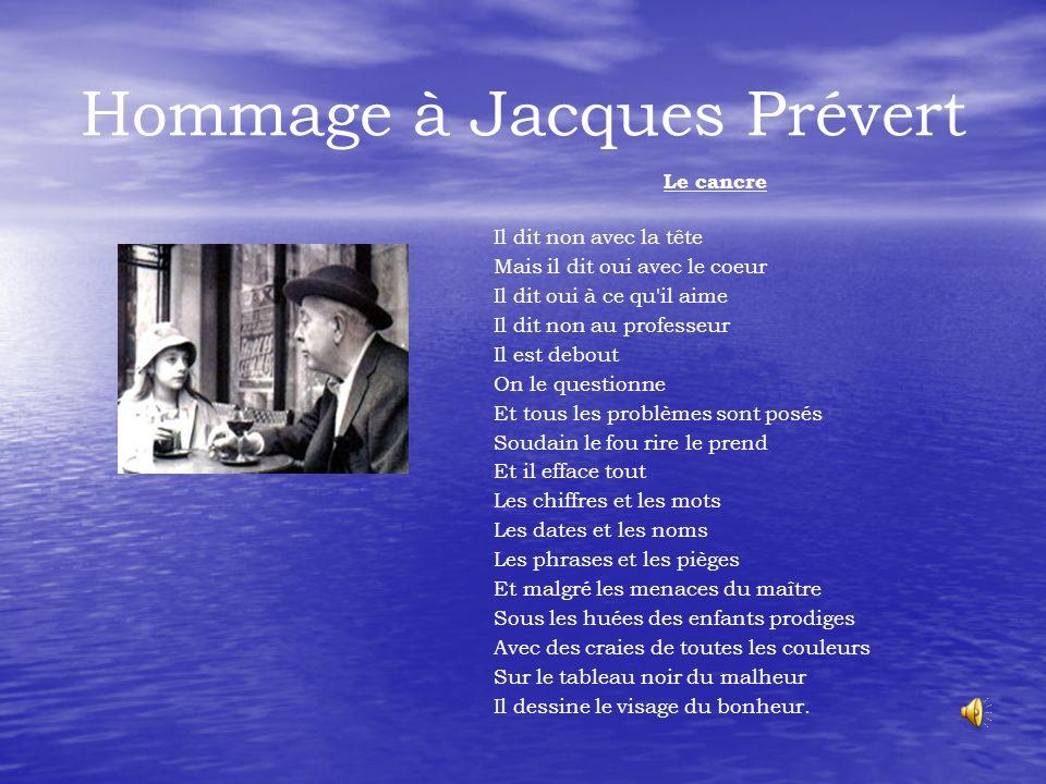 Hommage à Jacques Prévert