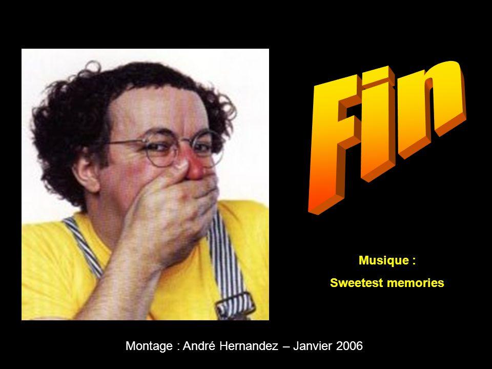 Montage : André Hernandez – Janvier 2006