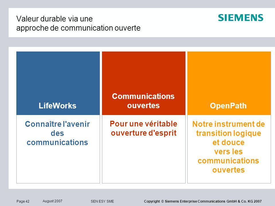 Valeur durable via une approche de communication ouverte