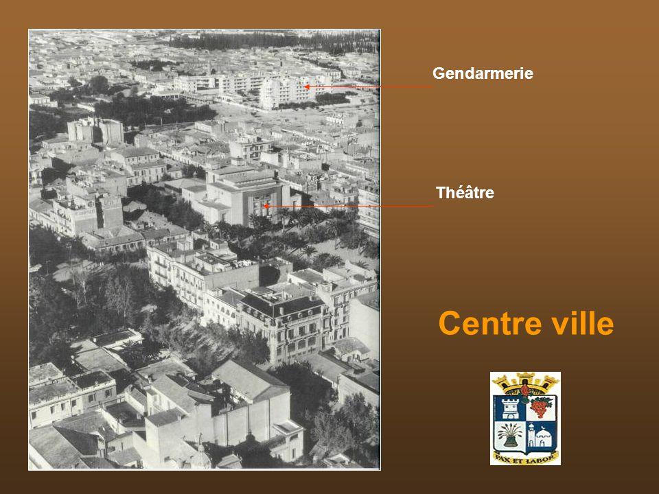 Gendarmerie Théâtre Centre ville