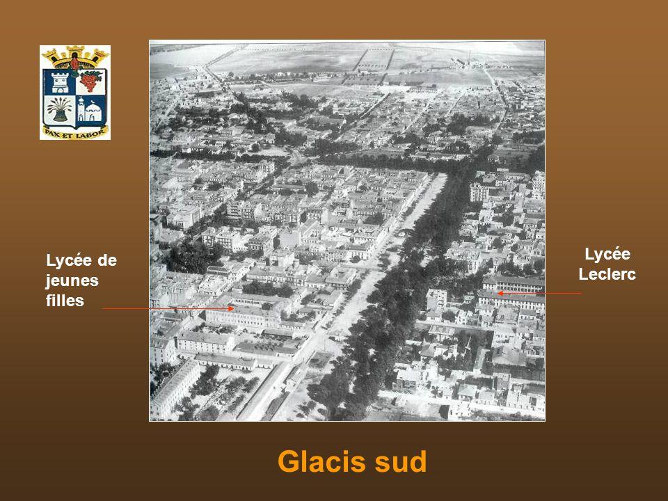 Lycée Leclerc Lycée de jeunes filles Glacis sud