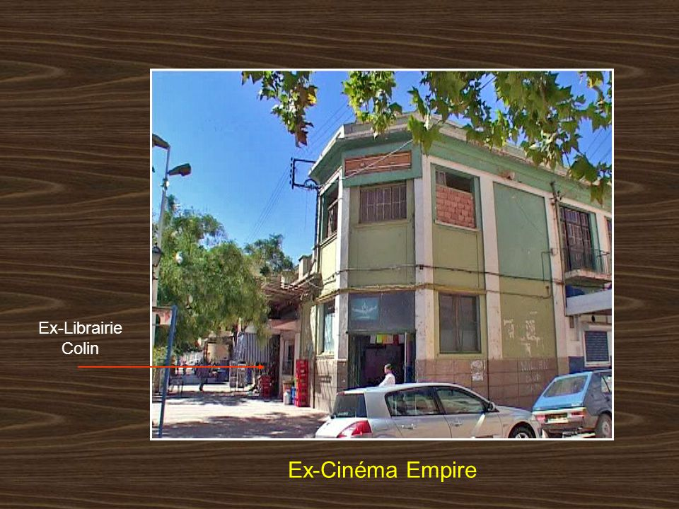 Ex-Librairie Colin Ex-Cinéma Empire