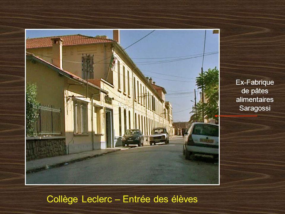 Collège Leclerc – Entrée des élèves