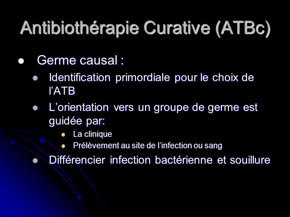 Antibiothérapie Curative (ATBc)