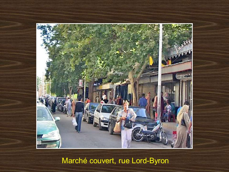 Marché couvert, rue Lord-Byron