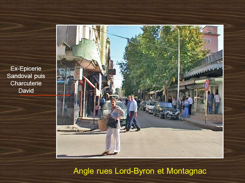 Angle rues Lord-Byron et Montagnac