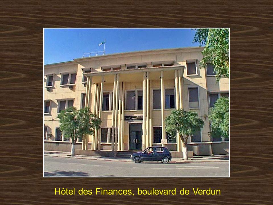 Hôtel des Finances, boulevard de Verdun