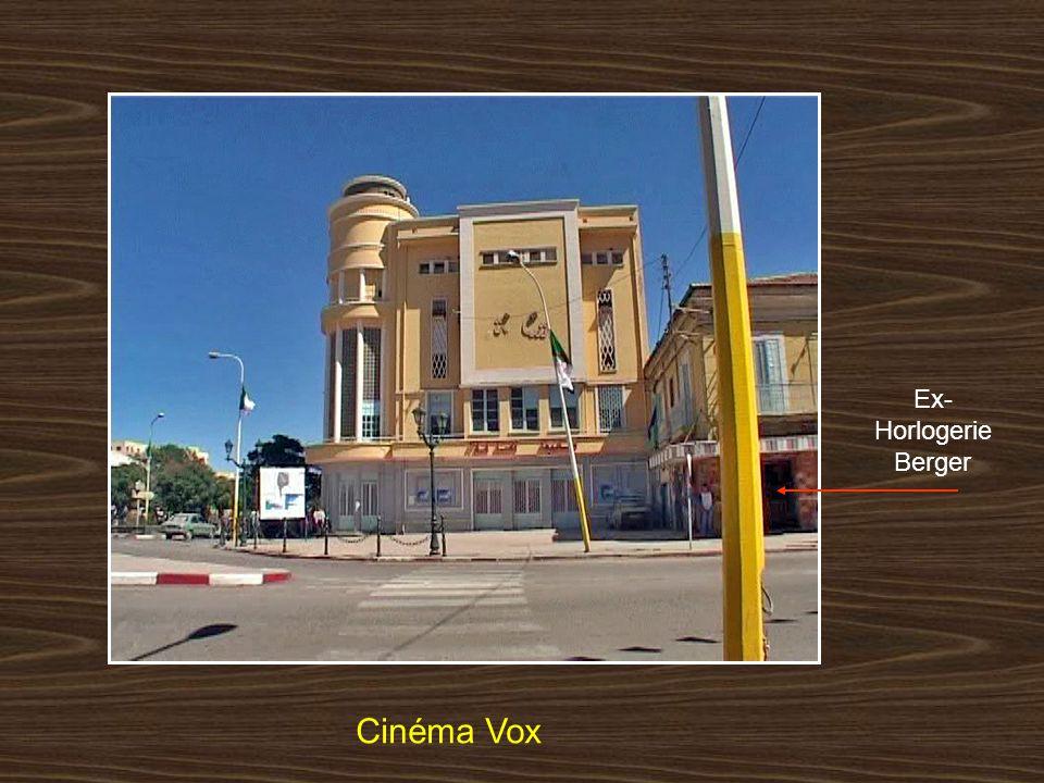 Ex-Horlogerie Berger Cinéma Vox