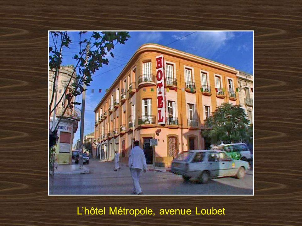L'hôtel Métropole, avenue Loubet