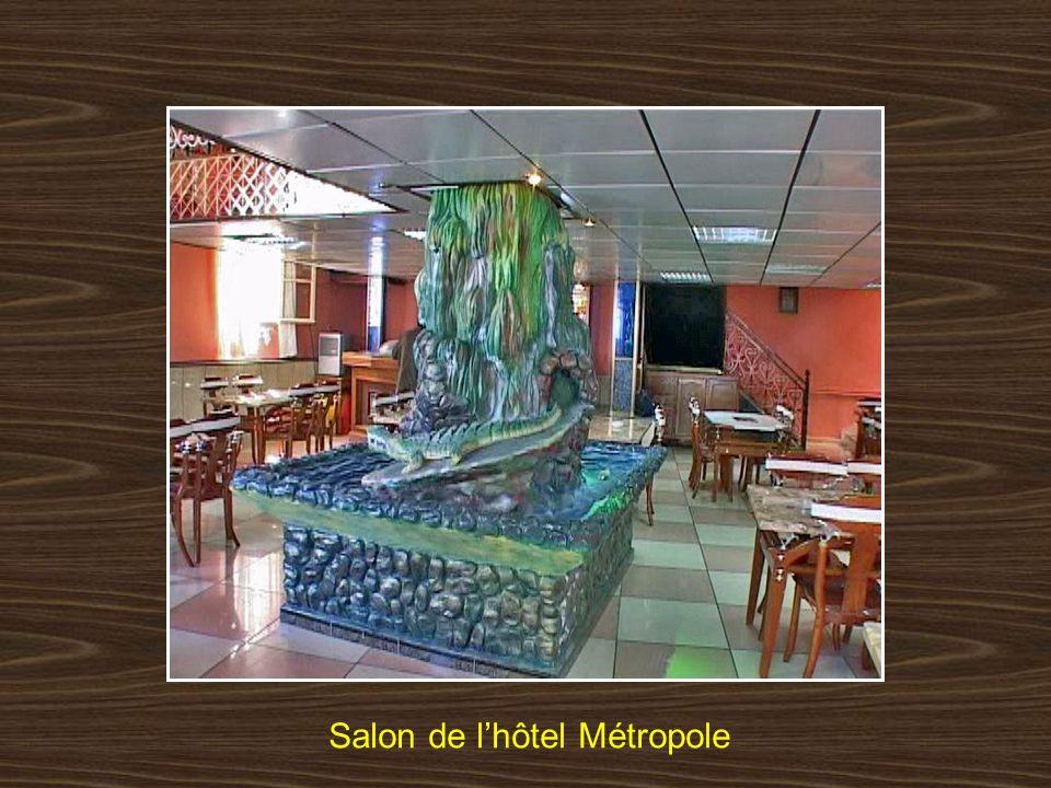 Salon de l'hôtel Métropole