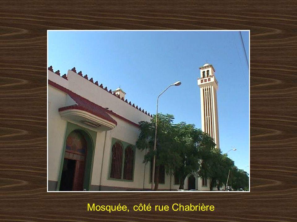 Mosquée, côté rue Chabrière