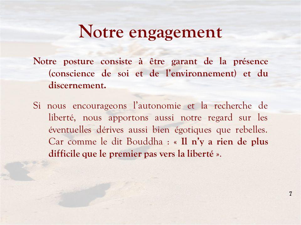 Notre engagement