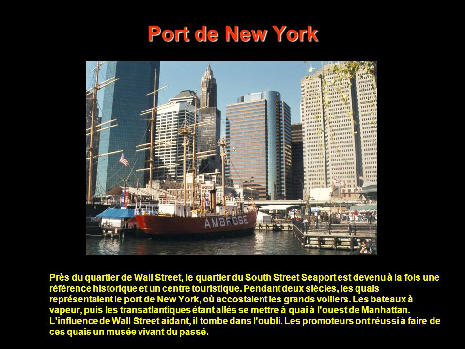 Port de New York