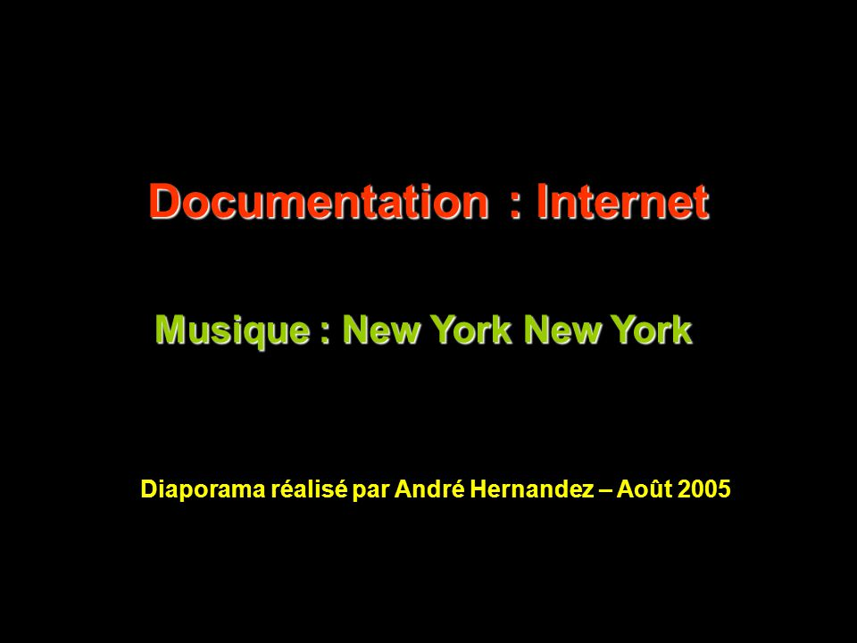 Documentation : Internet