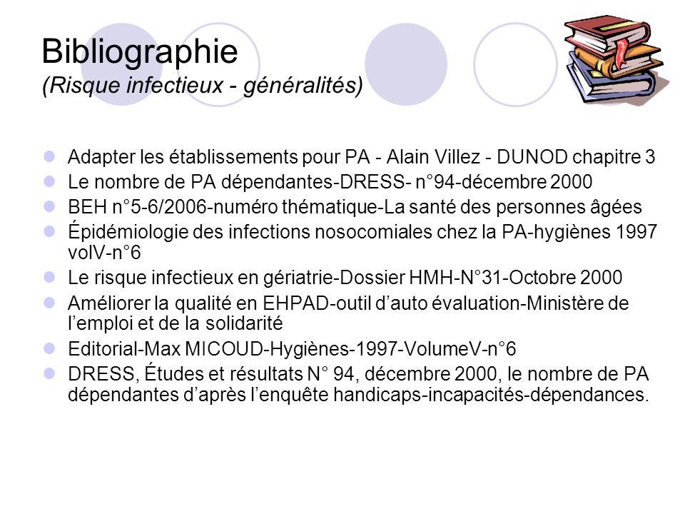 Bibliographie (Risque infectieux - généralités)