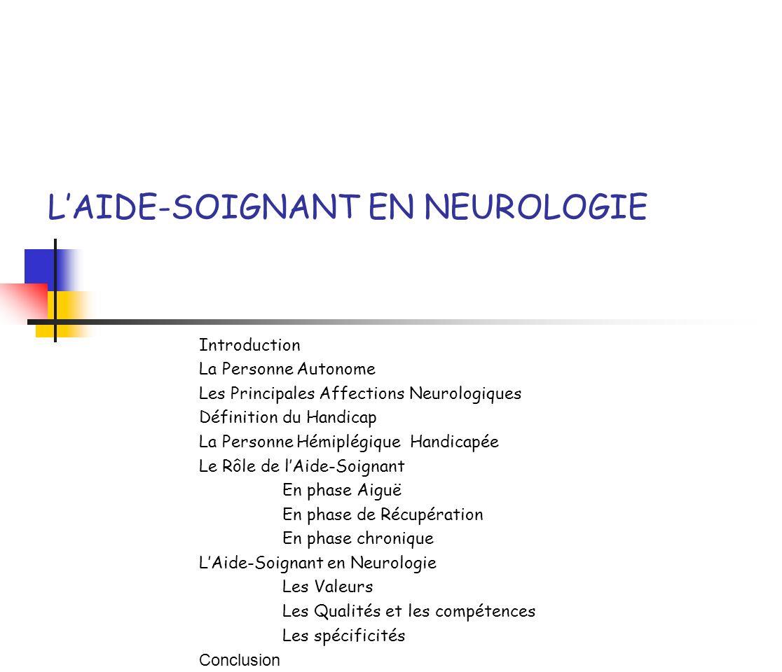l u2019aide-soignant en neurologie