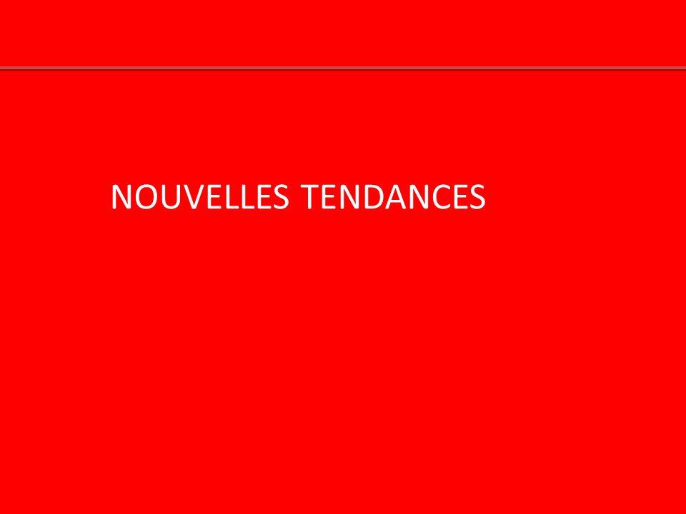 NOUVELLES TENDANCES