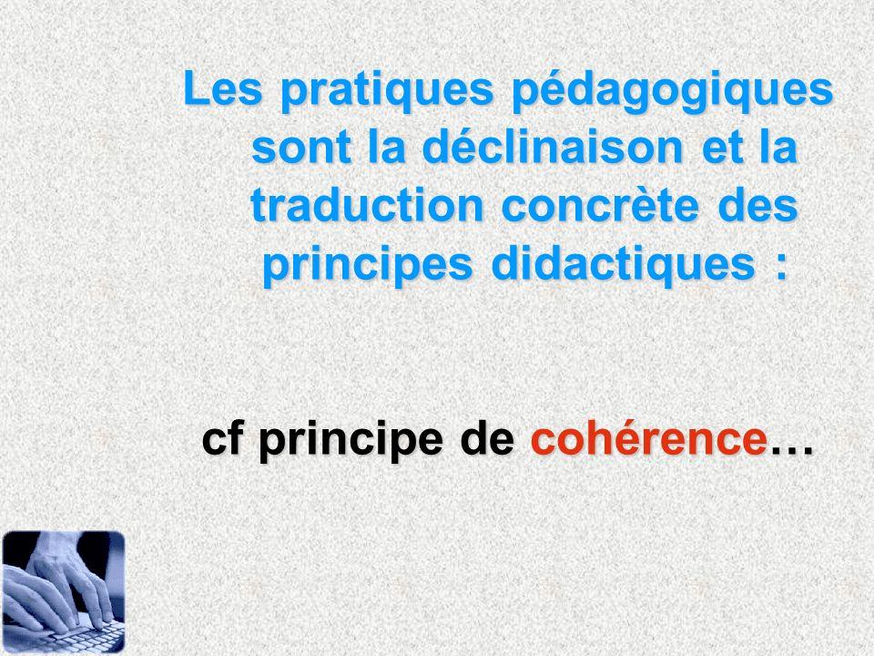 cf principe de cohérence…