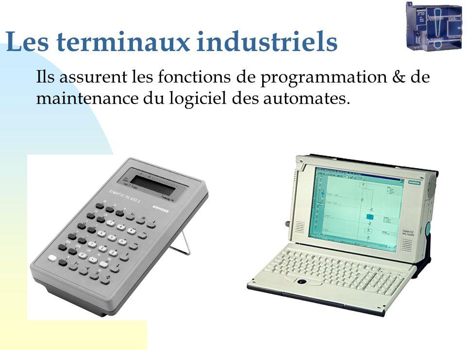 Les terminaux industriels
