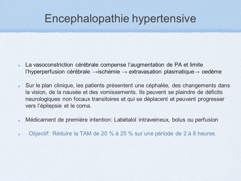 Encephalopathie hypertensive