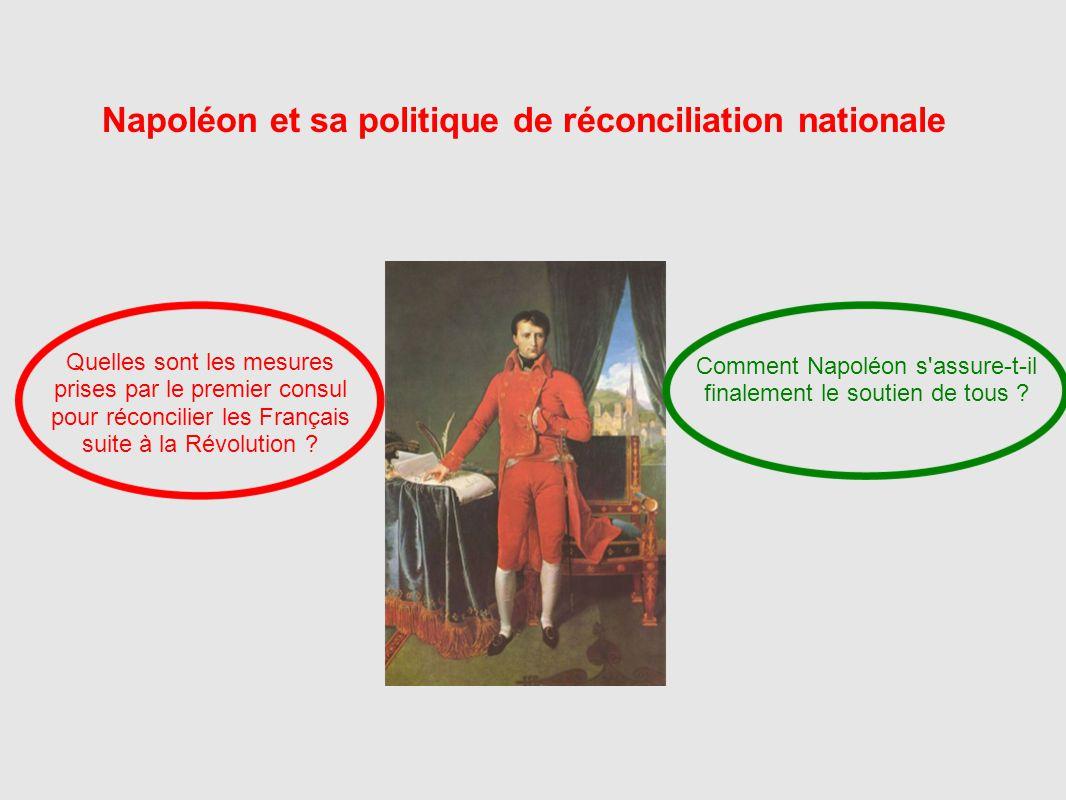 Napoléon et sa politique de réconciliation nationale