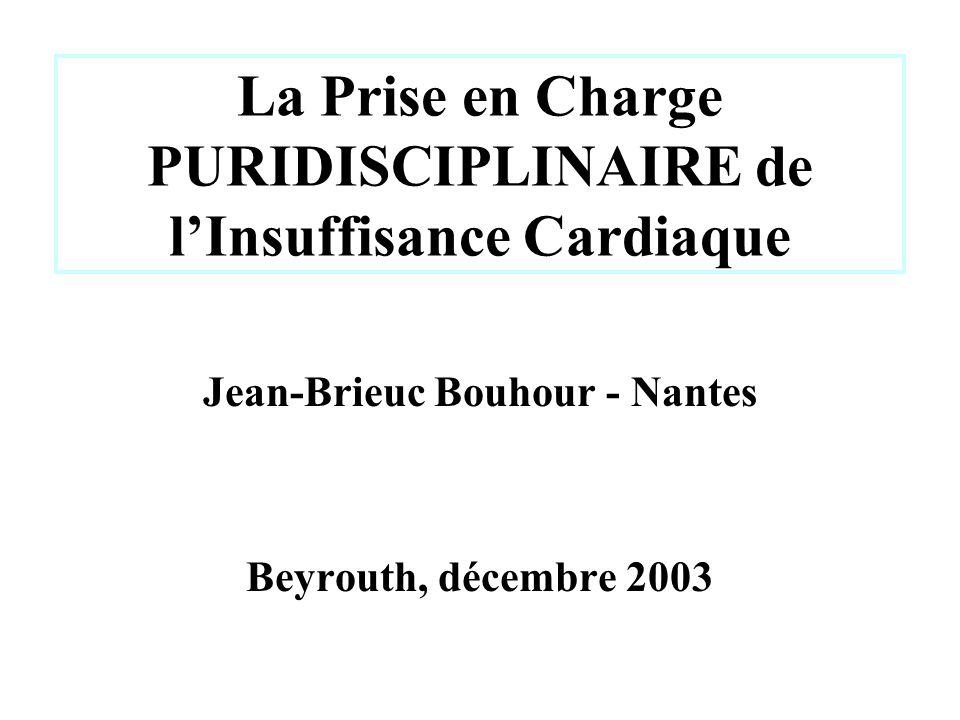 La Prise en Charge PURIDISCIPLINAIRE de l'Insuffisance Cardiaque