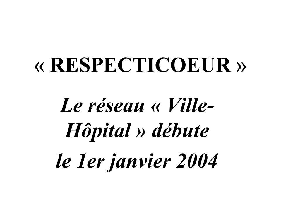 Le réseau « Ville-Hôpital » débute le 1er janvier 2004